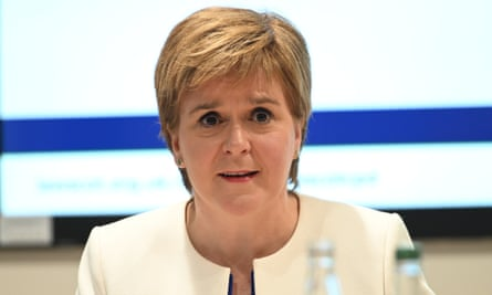 Nicola Sturgeon has indicated she would like a new referendum before 2021.