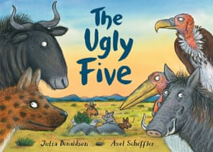 The Ugly Five, written by Julia Donaldson and illustrated by Axel Scheffler