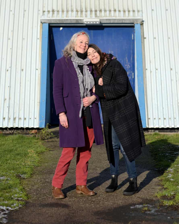 Nynke (left) and Andreea, London
