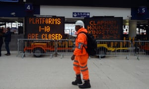 Waterloo rail works to affect tens of thousands of commuters