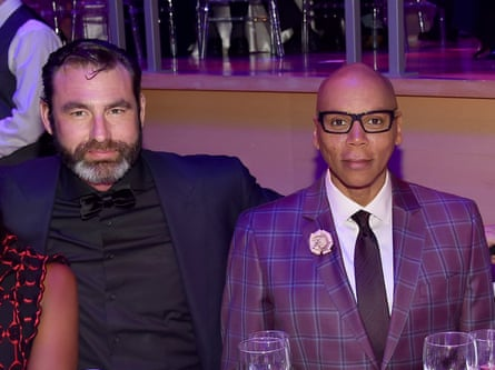 RuPaul and his husband, Georges LeBar