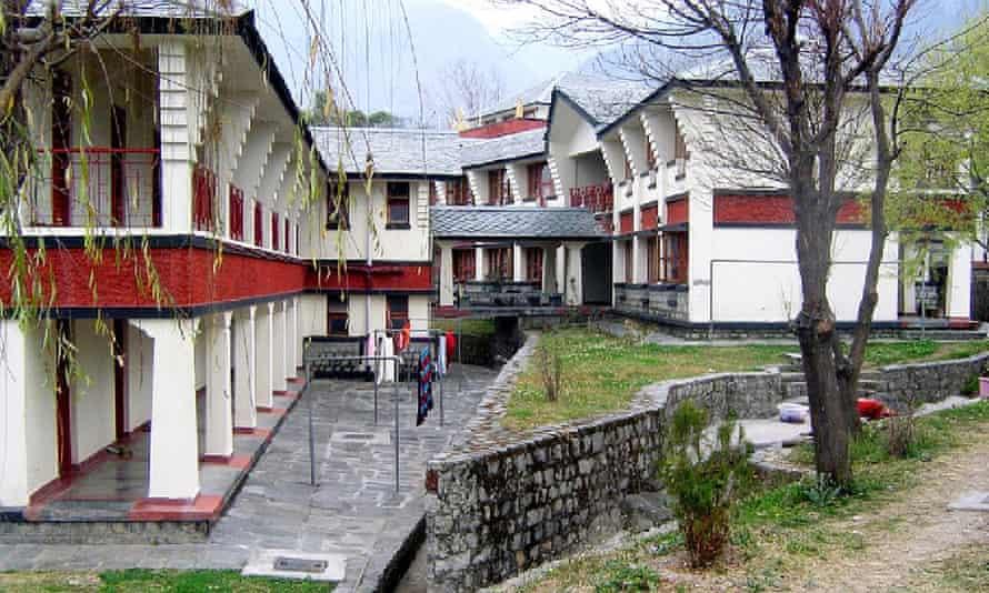 The Dolma Ling Nunnery at Dharamsala, designed by Muni Ganju