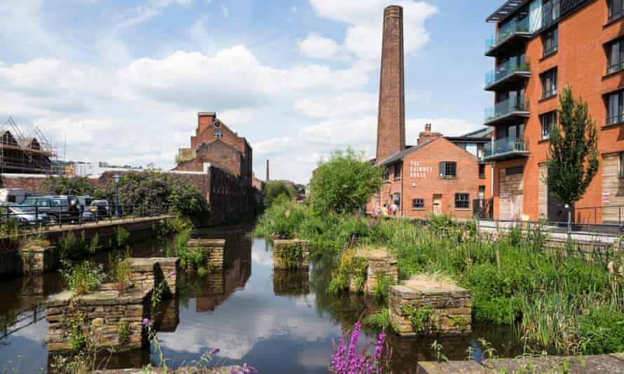Kelham Island Quarter in Sheffield, now partly regenerated.
