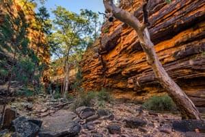 Alligator Gorge in Mount Remarkable National Park. Flinders Ranges, South Australia.