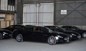 A fleet of Maseratis were among the cars purchased for the 2018 Apec forum in Port Moresby. Some other vehicles have gone missing.