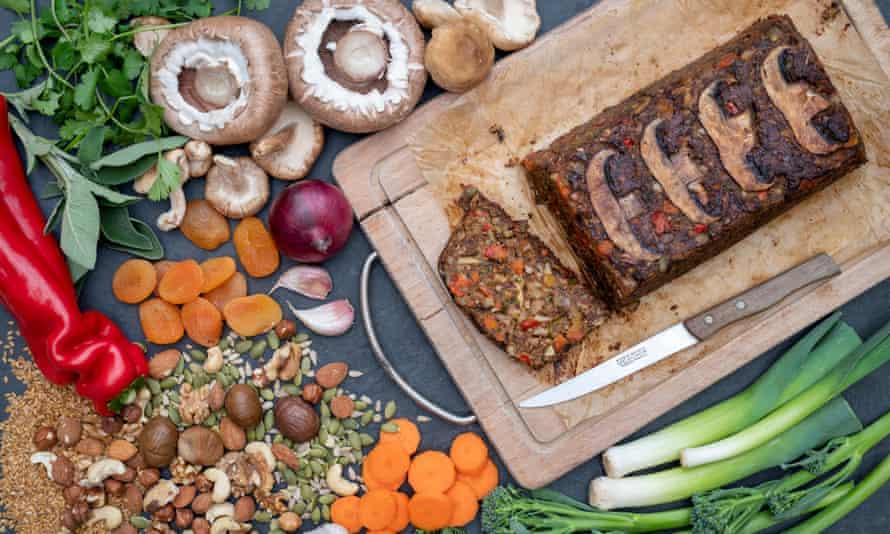 Nut gain ... vegan nut loaf.