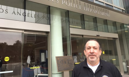 Andy Kleinick, head of LAPD's cyber crimes section.