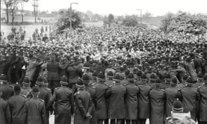 Clashes at the battle of Orgreave