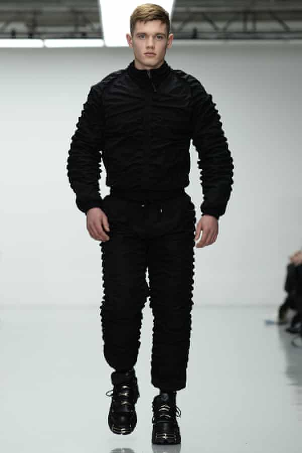 Nasir Mazhar's show at London Collections Men.