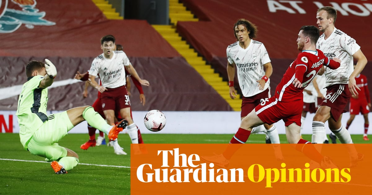 Liverpool overwhelm Arsenal in familiar glimpse of footballs old times | Barney Ronay