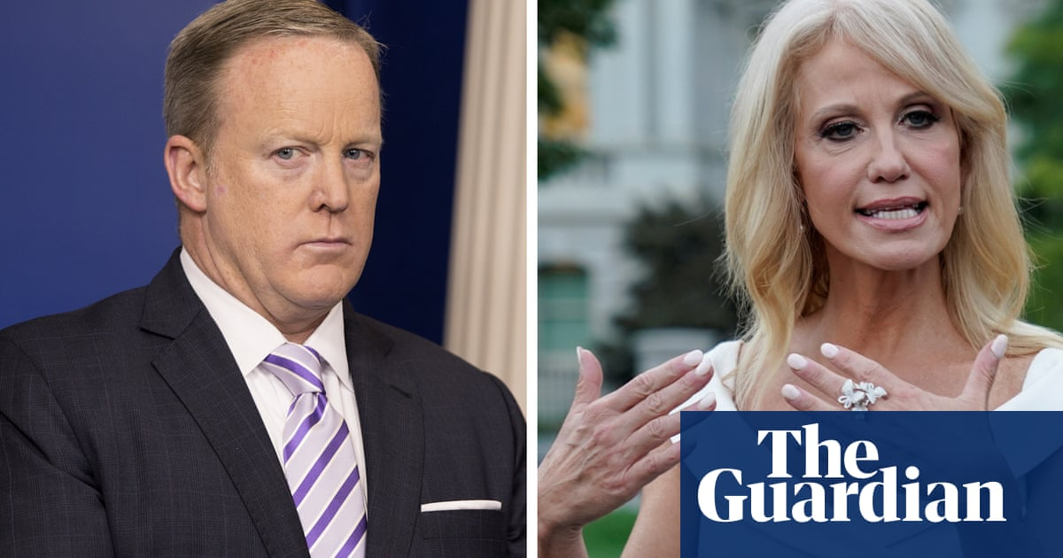 White House asks Sean Spicer and Kellyanne Conway to quit military academy boards – video