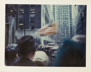 New York Parade, 1972, by Wim Wenders.