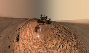 Portrait of Nasa's Curiosity Mars rover.