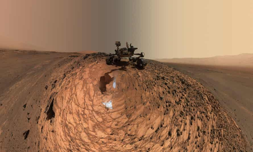 Portrait of Nasa's Curiosity Mars rover.