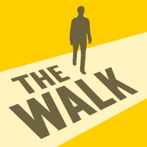 Users of The Walk have to take so many steps a day before they can access the next episode of a spy thriller.