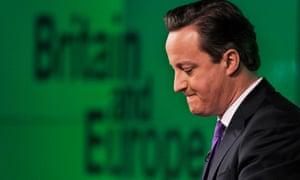 Cameron makes his Bloomberg speech