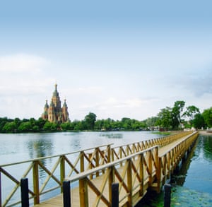 St Petersburg access bridge built by Marinetek