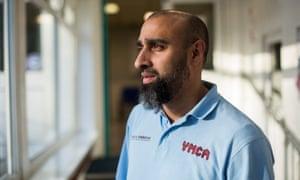 Tassawar Hussain, team leader at YMCA Northfield