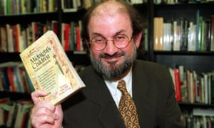 Salman Rushdie, the only triple Booker winner. He is pictured in 1993, when he won the 'Booker of Bookers' award for his 1981 Winner Midnight's Children. The novel also won the 2008 Best of the Booker prize in a public vote.