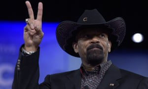 Sheriff David Clarke at the 2017 Conservative Political Action Conference.