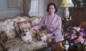 Olivia Colman as Queen Elizabeth II in The Crown.