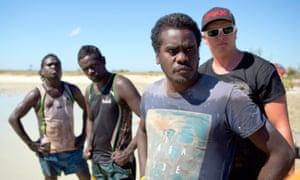 The cast of Australian docudrama Black As