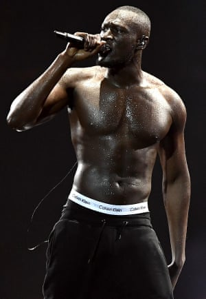 Stormzy … 'that famous elitist musician'.