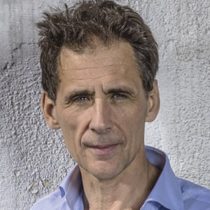 Writer David Lagercrantz photographed near home in Stockholm , Sweden by Olle Nordell for the Observer New Review 26th Aug 2015