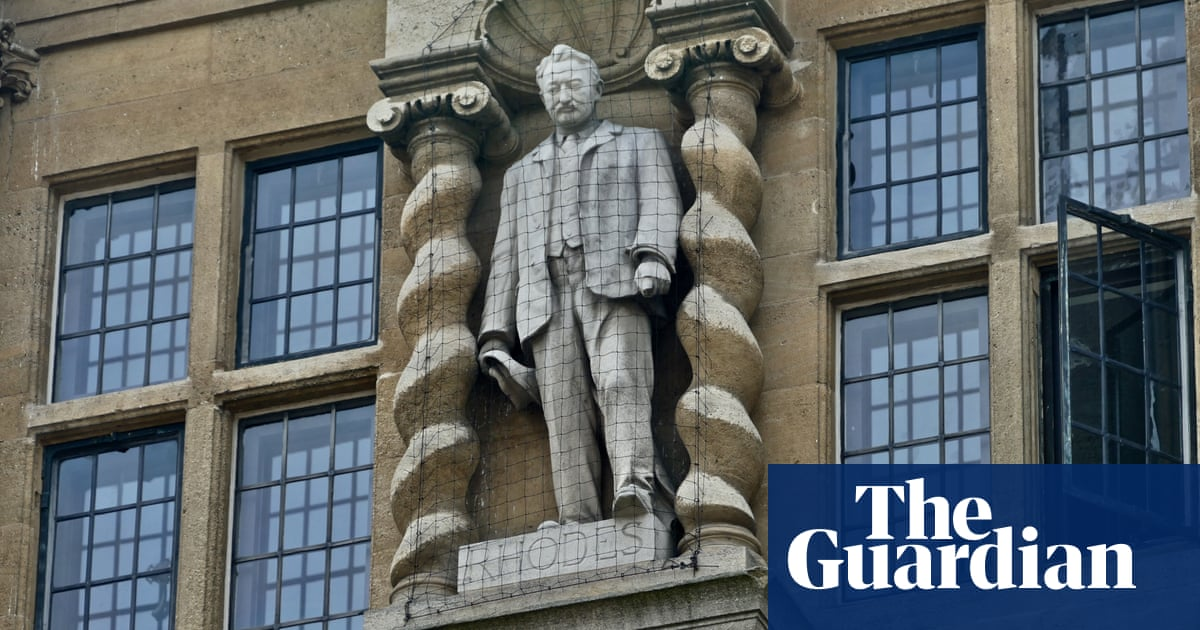 Oxford college installs plaque calling Cecil Rhodes a 'committed colonialist'
