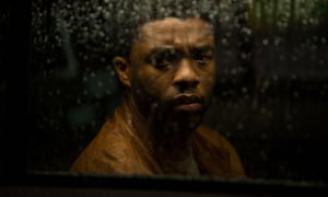 Chadwick Boseman in Message from the King, 2016