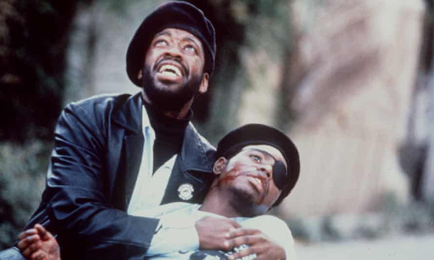 A scene from the 1995 film Panther, adapted from a novel by Melvin Van Peebles, and directed by his son Mario.