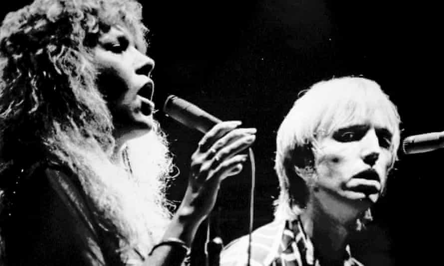 Tom Petty performing with Stevie Nicks, left, in 1981.