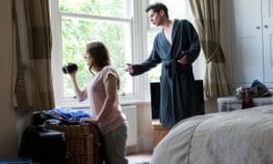 The People Next Door Actor, starring Joanna Horton and Karl Davies.