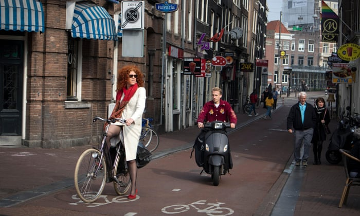 Unwelcome Guests Moped Riders Protest As Amsterdam Drives Them From