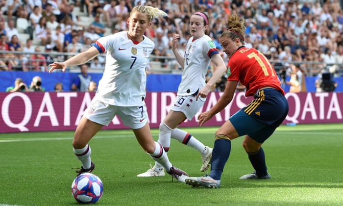 Spain 1-2 USA: Women's World Cup last 16 – as it happened