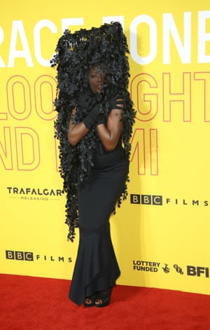 Jones remains the star of her own show - and, indeed, Sophie Fiennes' who made a film, Bloodlight and Bami, about the singer last year. What to wear for the premiere? An outfit that turned Jones into her own tree, one that prompts the statement 'bow down' to any young pretenders. We can only hope many more fashion statements will arrive in her next decade. Photo by Mike Marsland/Mike Marsland/WireImage