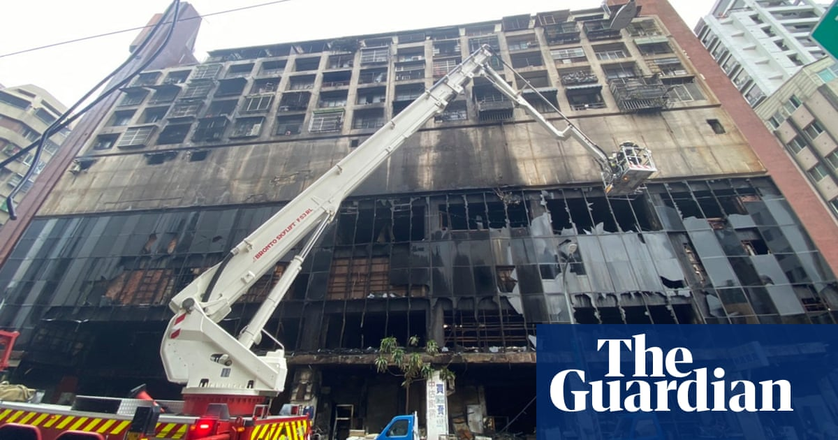 At least 46 killed as fire engulfs building in southern Taiwan