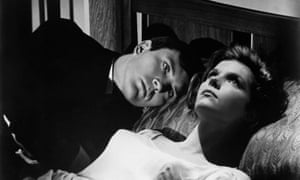 Terence Stamp and Samantha Eggar in the 1965 film of John Fowles's The Collector.