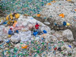 Dandora Landfill #3, Plastics recycling, Nairobi, Kenya, 2016