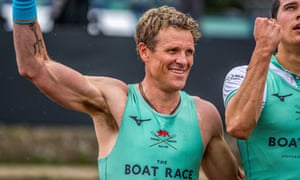 Boat Rac coverage was dominated by the 46-year-old former Olympian James Cracknell