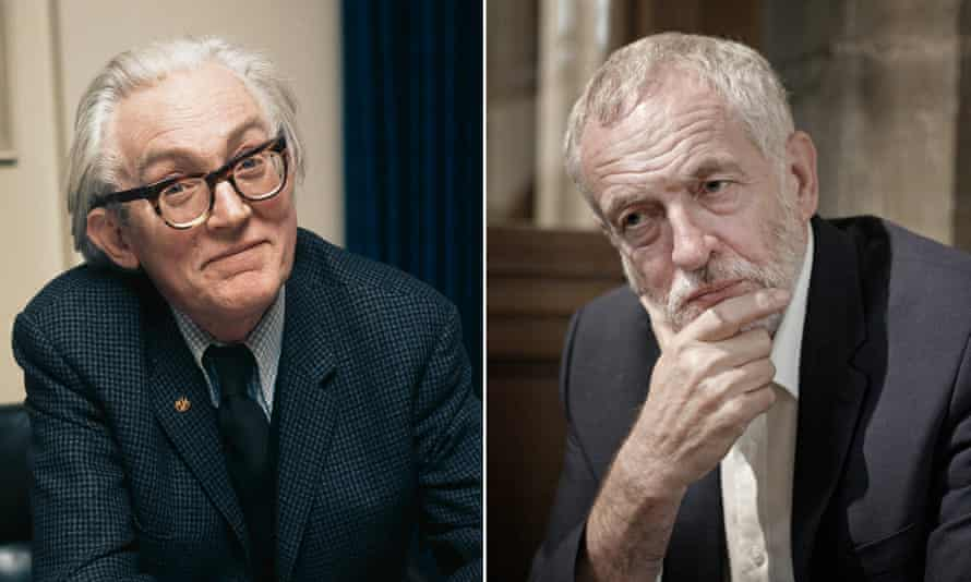 Michael Foot and Jeremy Corbyn … different politicians for different ages.