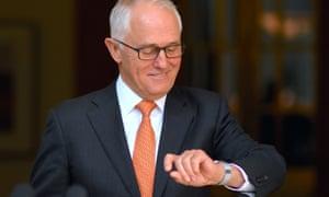 Australia's PM Malcolm Turnbull