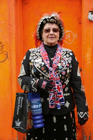 Doreen Golding portrait from the book Voices: East London by Maryam Eisler.