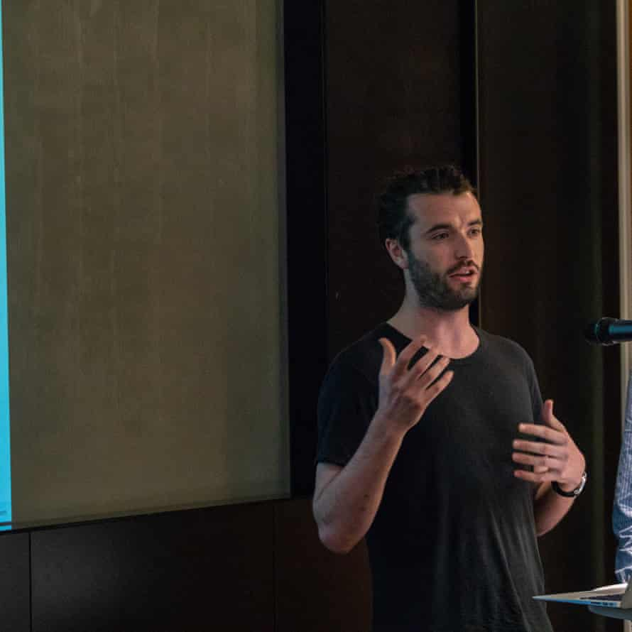 Jonathan Rankin at Guardian Hack Day 2018