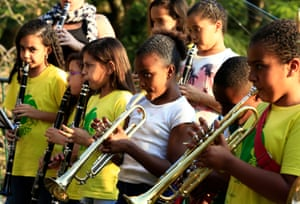 For a city where plays such a central role in the cultural and social life of the city, children from low income neighbourhoods rarely get the chance to play brass instruments,