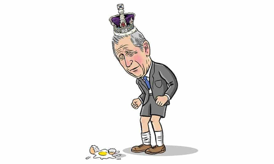 DANIEL MITCHELL illustration for Digested read Prince Charles