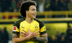 Axel Witsel has found a new lease of life since moving to Germany