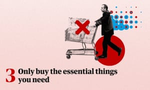 Graphic showing a man with a shopping trolley