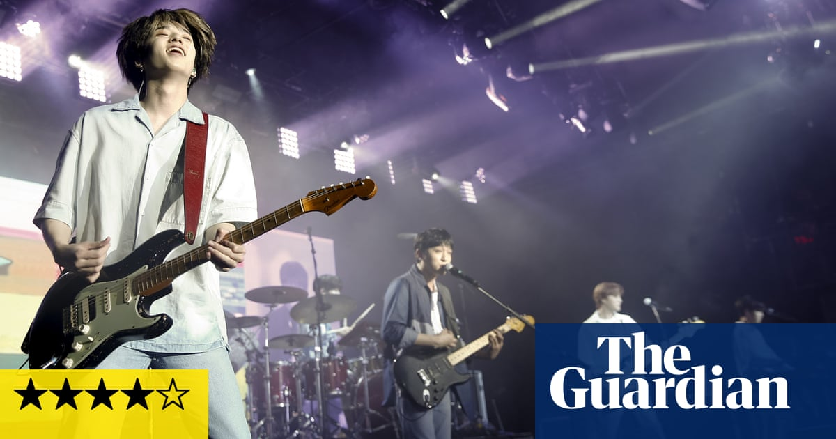 Day6 review – powerpop and positive energy from frenetic k-rockers