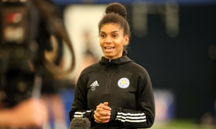 Holly Morgan is Leicester's captain and centre-back whose trial at the age of 11 catapulted her family in a new direction they did not expect.